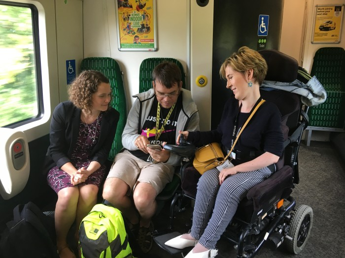 New map to give more confidence to disabled rail passengers