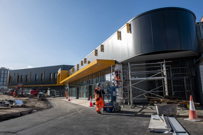 Construction of Wolverhampton station nearing completion