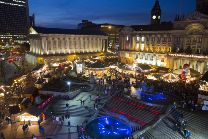 Passengers advised to plan their journeys as Birmingham's Christmas market signals start of busy festive period