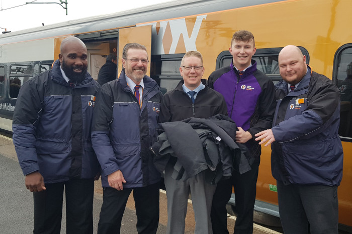 Railway uniform recycling scheme nominated for top awards