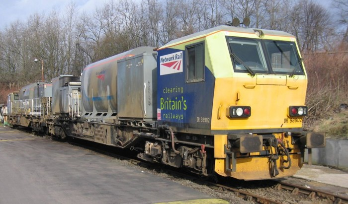 Leaves off the line: leaf-busting locos help keep passengers on the move this autumn