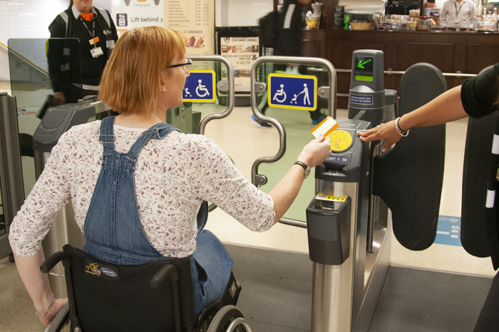 Record numbers of rail travellers using passenger assistance