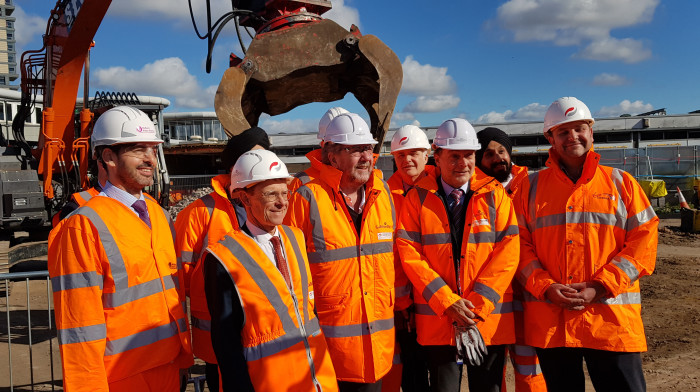 Historic day as full demolition starts on city railway station