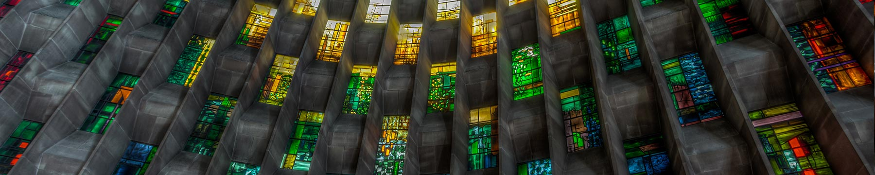Coventry Cathedral windows