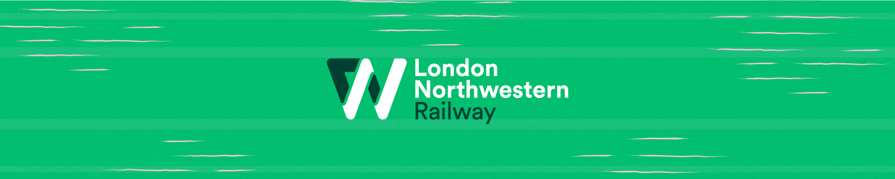 london northwestern railway logo banner