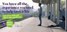 Passengers encouraged to make small talk and help save lives on the railway