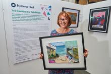 Northamptonshire artist celebrates the freedom of train travel in 'No Boundaries' exhibition