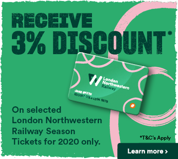 Receive 3% discount on selected Season Tickets