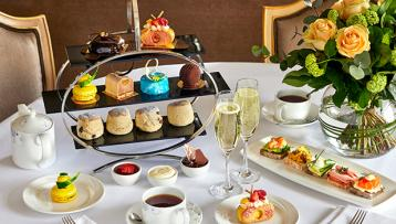 Confessions of a Chocoholic Afternoon Tea