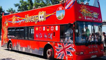 Liverpool City Sights Open Top Bus Tour