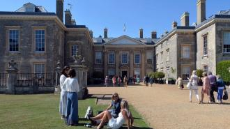 General View of Althorp House, in Northamptonshire