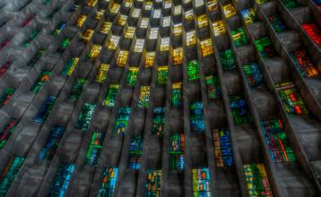 Coventry cathedral window